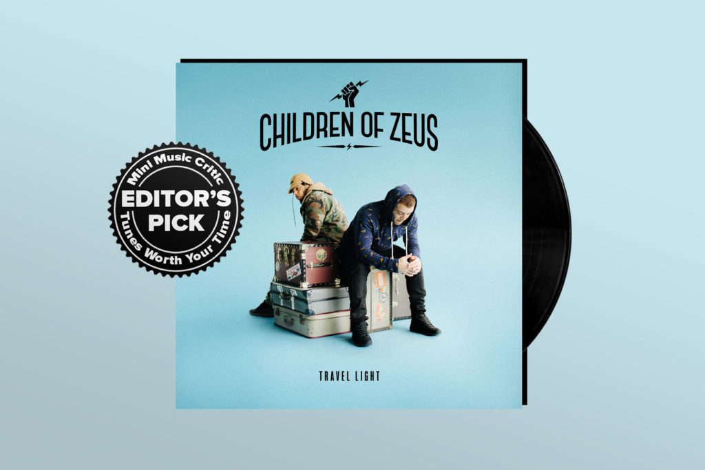 ALBUM REVIEW: Children of Zeus Show Hard-Earned Talent on 'Travel Light'