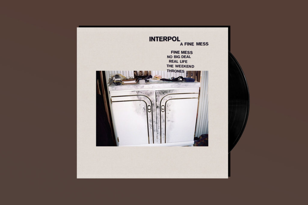 EP REVIEW: Interpol's 'A Fine Mess' Is Just Fine